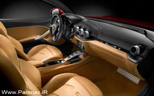 جزئیات جدید از ماشین فراری F12 Berlinetta + تصاویر