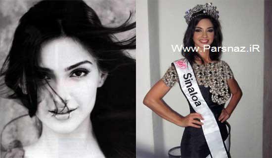 عکس هایی از دختر شایسته مکزیک در سال 2012