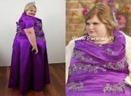 انتخاب زیباترین زن در بین خانم های بسیار چاق + عکس