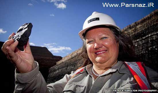 این خانم از تمام زنان پولدار جهان ثروتمندتر است + عکس