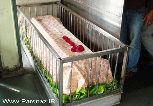 یک رستوران عجیب در میان قبرها در هندوستان + عکس