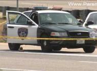 خودکشی عجیب این زن جوان در ماشین پلیس + عکس