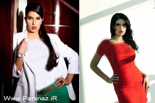 www.groupsnator.com - ممنوع الورود شدن سوپر مدل زیبای عربستانی + عکس