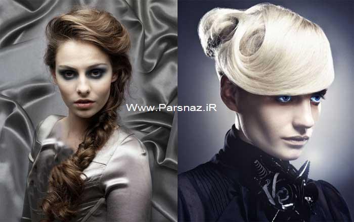 عکس هایی از مدل موهای مختلف دخترانه