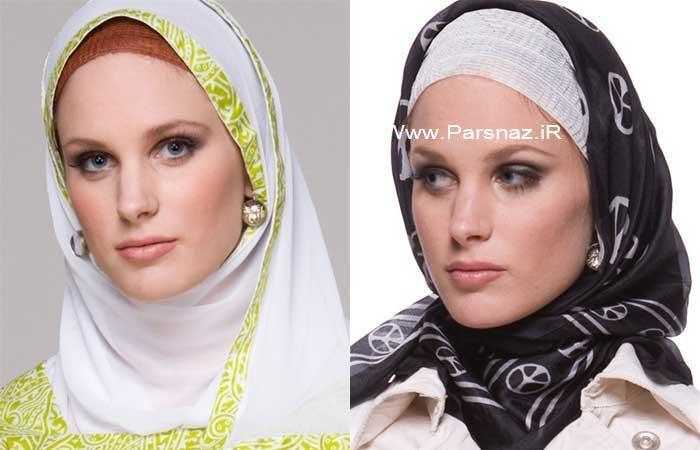 مدل جدید روسری دخترانه زیبا نوروز 92