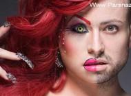 اگر مردان آرایش می کردند این شکلی می شدند + تصاویر