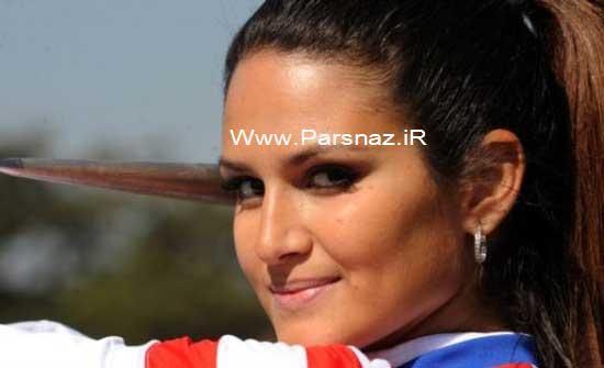عکس هایی از جذاب ترین و زیباترین دختر المپیک