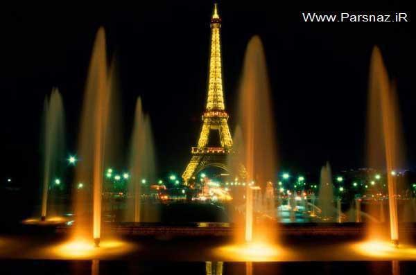 برج ایفل در پاریس پربازدیدترین بنای توریستی جهان است