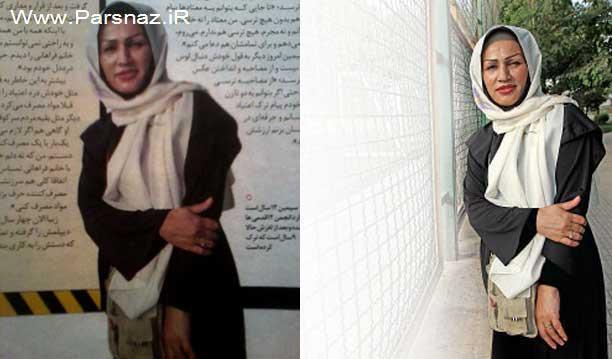 این خانم ایرانی با اراده ترین زن ایران نام گرفته است + عکس