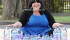 خانمی عجیب که روزانه 25 لیتر آب می خورد + عکس