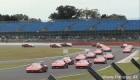 رژه تاریخی اتومبیل های فراری F40 در پیست + عکس
