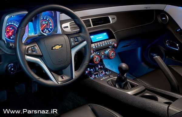عکس هایی از ماشین بسیار زیبای شورولت کامارو