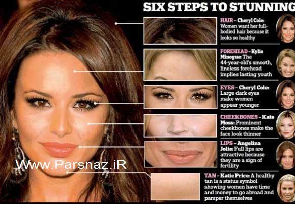 خانمی با زیباترین و جذاب ترین خصوصیات چهره + عکس