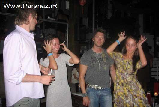 جنجال تصاویر مستهجن از خانم وزیر در فیسبوک + عکس
