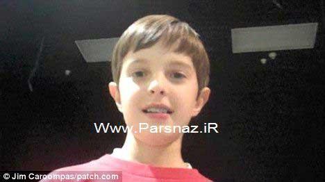 www.parsnaz.ir -  اقدام جالب پسر 10 ساله برای مادربزرگ نابینایش + عکس