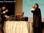 اولین خانم ایرانی شعبده باز با حجاب اسلامی + عکس