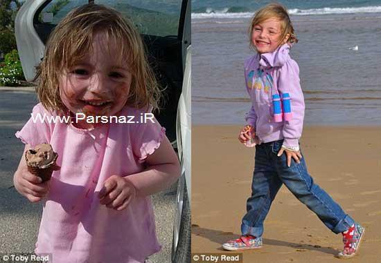 دختری 5 ساله که فقط معجزه می تواند نجاتش دهد + عکس