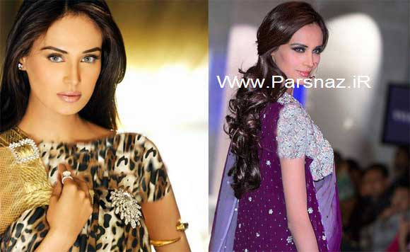 زیباترین سوپر مدل حرفه ای پاکستان ستاره سینمای بالیوود