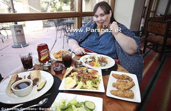 سرآشپز و چاق ترین زن جهان دو زوج عاشق + عکس