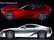 ظهور اتومبیل لکسس LFA در کنار برادرش LF-LC + عکس