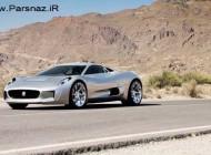 اتومبیل جگوار در حال تست نسخه آزمایشی C-X75 + عکس