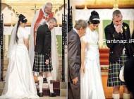 وقتی حلقه ازدواج عروس و داماد آنها را مشهور می کند