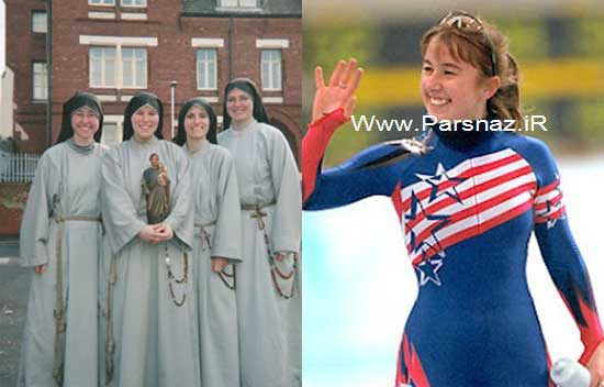 قهرمانی این خانم در المپیک تا زندگی در لباس یک راهبه