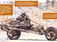 اقدام جالب این مرد ژیان را تبدیل به موتور سیکلت کرد + عکس
