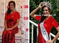 عکس هایی از سربازی که ملکه زیبایی انگلیس شد +عکس