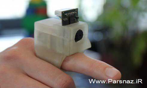 انگشتر دوربینی جالب برای نابینایان ساخته شد + عکس