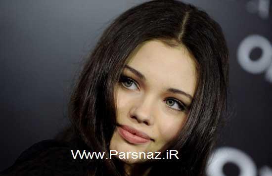 با دختر جوان و زیبا شبیه به آنجلینا جولی آشنا شوید +عکس