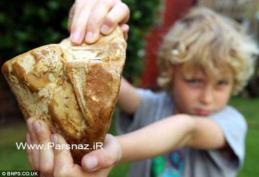 پسر بچه با استفراغ نهنگ یک روزه صاحب £ 40.000 ثروت شد