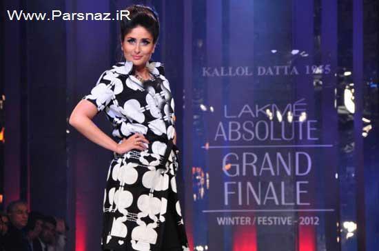 کارینا کاپور بازیگر زیبای هند مانکن شد + عکس