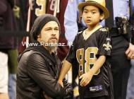 هدیه ویژه براد پیت و آنجلینا جولی به پسرش + عکس