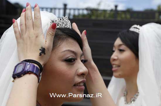 ازدواج دو زن+ عکس 1