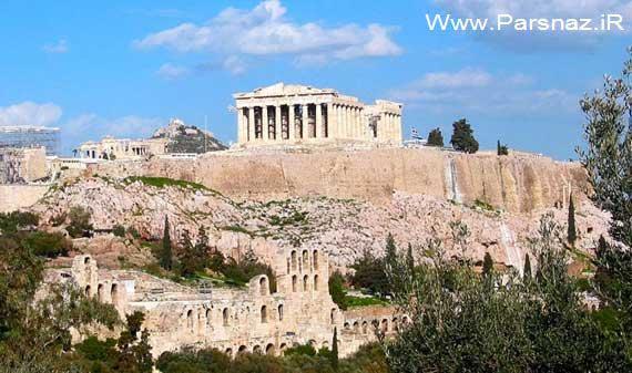 درباره آتن پایتخت کشور تاریخی و زیبای یونان + عکس