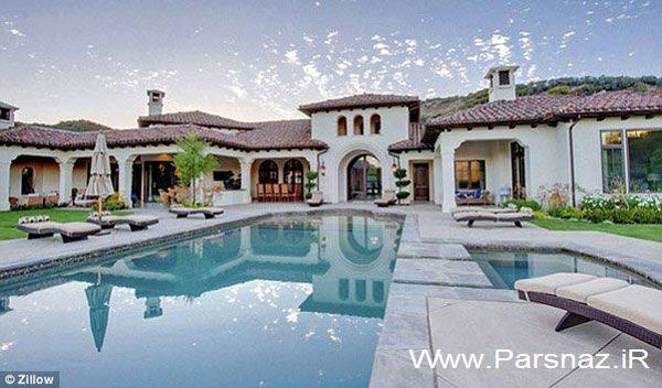 عکس های دیدنی از خانه رویایی بریتنی اسپیرز