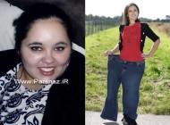 عشق به آنجلینا جولی باعث لاغر شدن این دختر شد + عکس