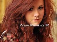 این دختر به علت رنگ موهایش از مدرسه اخراج شد + عکس