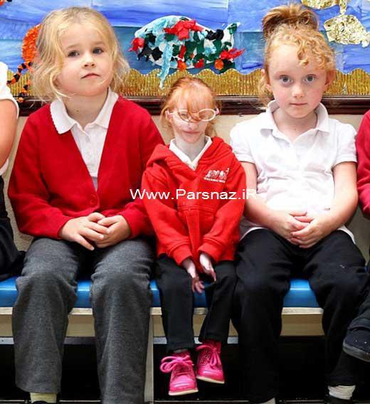 روزهای اول مدرسه با کوچک ترین دختر دنیا + عکس