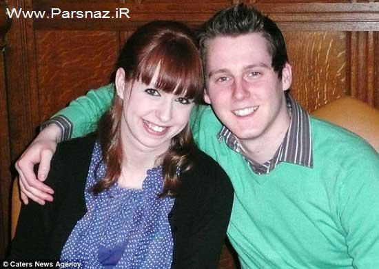 عشق و وفاداری این دختر 25 ساله به نامزدش (عکس)