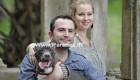 فداکاری این زوج مهربان برای درمان سگ بیمارشان + عکس