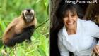 زندگی عجیب زنی که توسط میمون ها بزرگ شد (عکس)