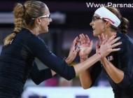 اتفاقی خوب برای ستاره والیبال ساحلی بانوان آمریکا + عکس