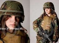 زایمان عجیب این سرباز خانم در خط مقدم + عکس