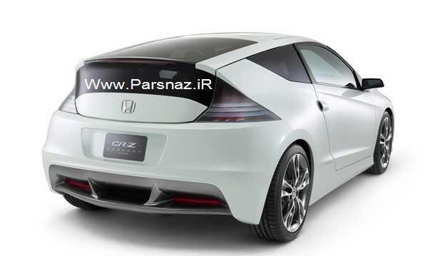رونمایی از اتومبیل هوندا CR-Z مدل 2013 در اندونزی + عکس