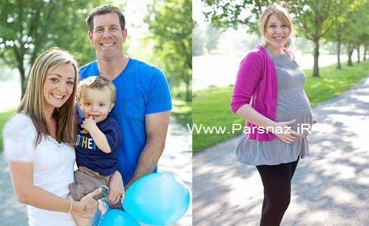 www.parsnaz.ir - این زن قرار است دوقولو های برادرش را بدنیا آورد!! + عکس