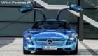 اتومبیل جدید مرسدس بنز SLS AMG الکتریکی + عکس