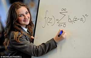 www.parsnaz.ir - این دختر باهوش از انیشتین هم باهوش تر است + عکس