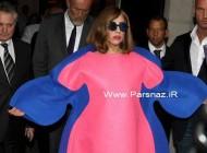 عینک و لباس مسخره لیدی گاگا سوژه داغ رسانه ها شد